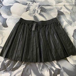 Emma Skirt Leather